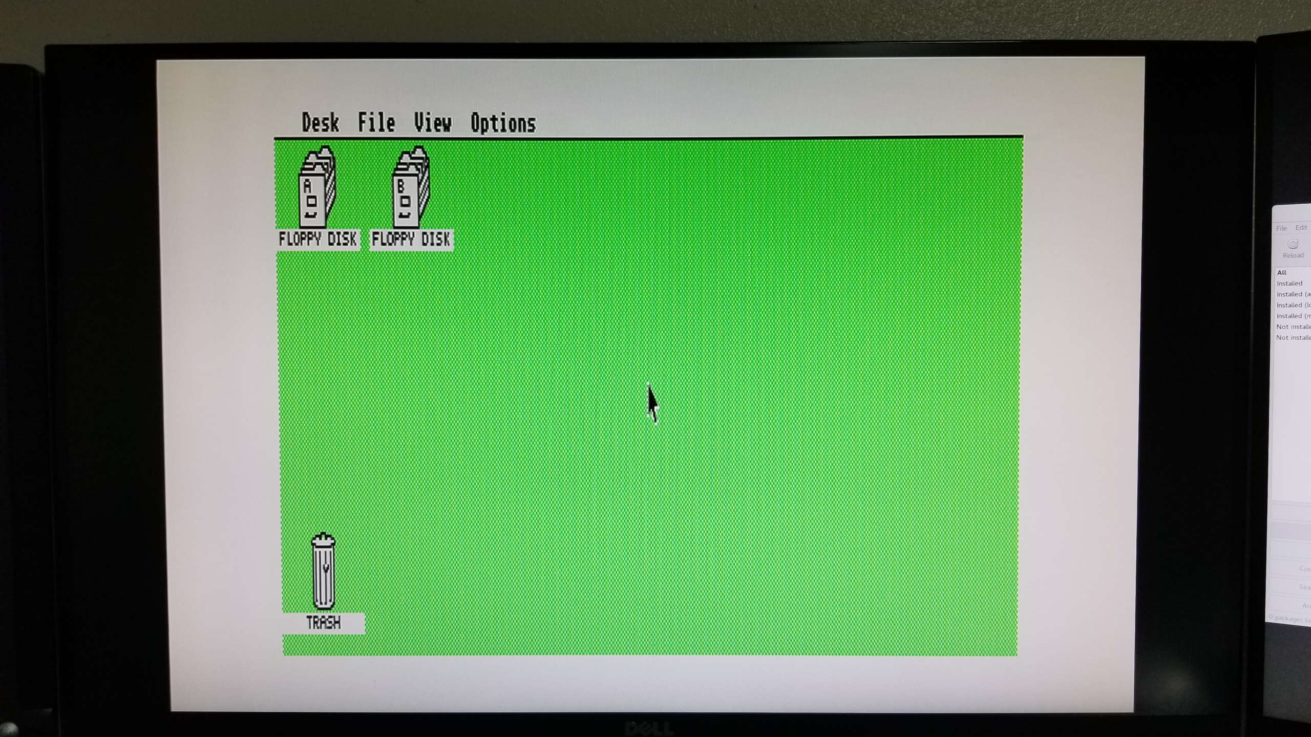 Atari 1040STe connected via SCART cable that gives black screen with 130XE